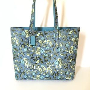 Coach Highline Floral Tote Bag